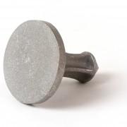 """3 1/4"""" Flat Top Aluminum M/M/Cast"""