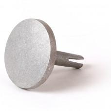 "3 1/4"" Dome Aluminum M/M/Cast Split-Stem"