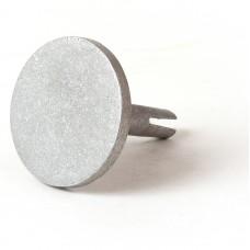 "3 1/4"" Flat Aluminum M/M/Cast Split-Stem"