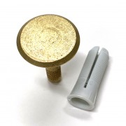 30mm Brass Marker - Plain