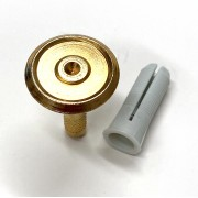 30mm Brass Marker - Recessed w/Center Point
