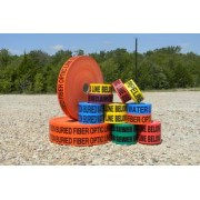 """Non-Detectable Warning Tape 3"""" by 1000'."""