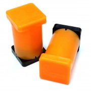 "1"" x 1"" x 2"" Magnetic Reference Module (Fluorescent Orange)"