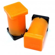"""1"""" x 1"""" x 2"""" Magnetic Reference Module (Fluorescent Orange)"""