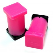 "1"" x 1"" x 2"" Magnetic Reference Module (Fluorescent Pink)"