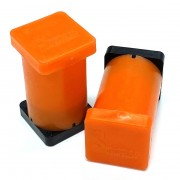 "1"" x 1"" x 2"" Magnetic Reference Module (Orange)"