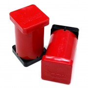 "1"" x 1"" x 2"" Magnetic Reference Module (Red)"