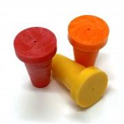 "PERMAMARK Plastic Survey Markers for 3/8"" Rebar or 1/2"" pipe"