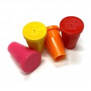 "PERMAMARK Plastic Survey Markers for 1/2"" Rebar or 3/4"" Pipe"