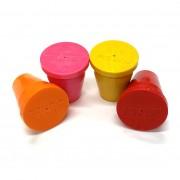 "PERMAMARK Plastic Survey Markers for 5/8"" Rebar or 1"" Pipe"