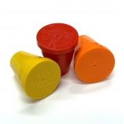 "PERMAMARK Plastic Survey Markers for 3/4"" Rebar"