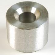 Aluminum Anvil for aluminum caps with plastic inserts