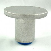 """2 1/2"""" Flat Top for 3/4"""" Rebar with Plastic Insert"""