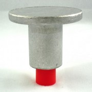 "2 1/2"" Flat Top for 5/8"" Rebar with Plastic Insert"