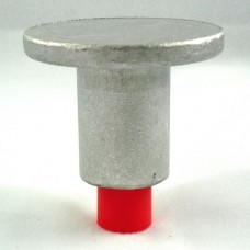 """2 1/2"""" Flat Top for 5/8"""" Rebar with Plastic Insert"""