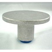 "3 1/4"" Dome Top for 3/4"" Rebar with Plastic Insert"