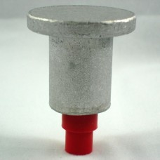 "2"" Flat Top for 1/2"" Rebar with Plastic Insert"