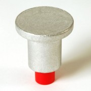 """2"""" Flat Top for 5/8"""" Rebar with Plastic Insert"""