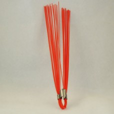 "Orange 6"" Marking Whiskers - QTY of 100"