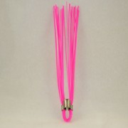 "Glo Pink 6"" Marking Whiskers - QTY of 100"
