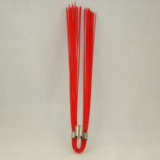 "Red 6"" Marking Whiskers - QTY of 100"
