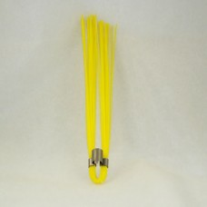 "Yellow 6"" Marking Whiskers - QTY of 100"
